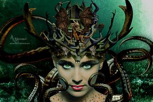 Dragon Queen Woman 2 by annemaria48
