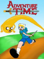 Adventure Time - Computer Finish by FrostyChica