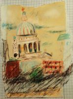 St. Pauls -Sketch book by Nippip