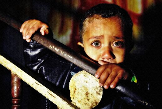 GAZA CHILD by Quadraro