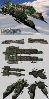 Wotan ARMED CARGO SHIP by R0DrI90