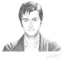The 10th Doctor by Lyvyan
