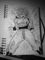 Super Saiyan God (my Version) by NickKuma