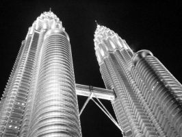 Petronas Twin Tower - Art 4 by Talk3talk4