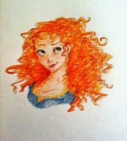 Merida - 2 by Itzaka