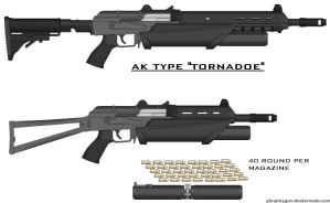 AK TYPE TORNADOES by ZiWeS