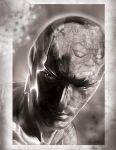Silver Surfer / Galactus reflection by GraphixRob