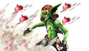 Goblins And Gnomes contest: Flying bombs by G-Chan0nly