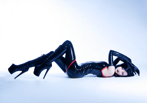 Latex, PVC and Boots by VerityVian