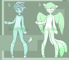 Anthro Adoptables [open] by GeXeHeNNa