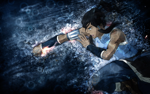 Legend of Korra Wallpaper by umi-no-mizu