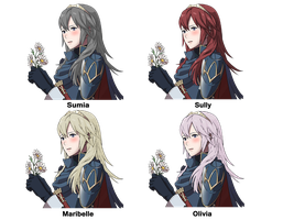 If Lucina had her mother's hair by sofibeth