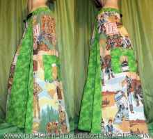 Green-Star-Wars-Jedi-Phat-Rave-Pants by RedheadThePirate