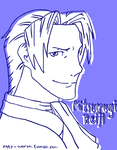 Miles Edgeworth by PatMonahanFangirl
