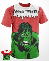 hulk tweeting by vivisektor
