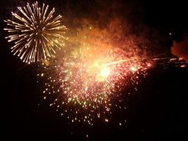 Fireworks over Sewanee by Red-Barchetta