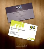 HnA business card samples by inkrush
