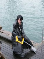 Xion Cosplay by KeyshaKitty