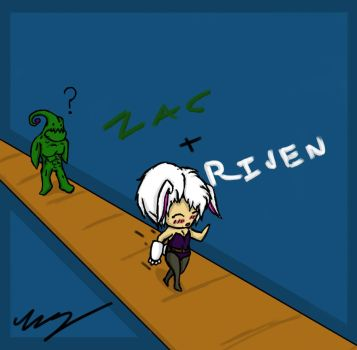 Zac and Riven by EpicEliteGuy