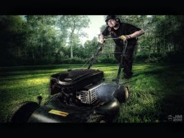 Zen and the Art of Lawn Mowing by wchild