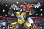 Transformers: Sideswipe and Sunstreaker DX by ZeroMayhem