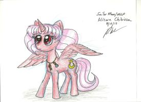 Sailor Moon/MLP- Alicorn Chibiusa by Madame-Finitevus1890