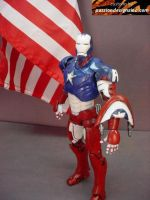 Captian America Ironman by PassionDesignsInc