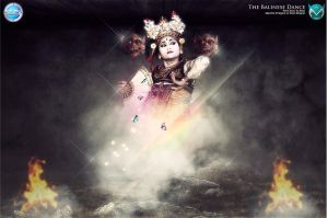 The Balinese Dance by monsterz-arts