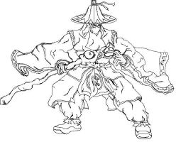 Dynasty Warriors - Pang Tong by ColdSideOfThePillow