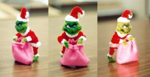 Pipe Cleaner Grinch by fuzzymutt