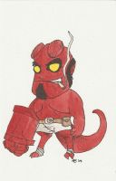 Hellboy by AmberStoneArt