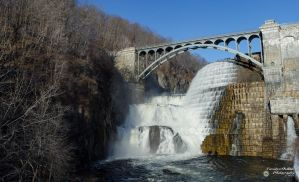 New Croton Dam Waterfall by ForsakenOutlaw