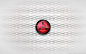 Wallpaper - Sharingan '3rd Level' Logo by Kalangozilla
