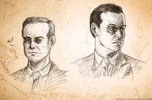 Moriarty sketches by fashion-jerk