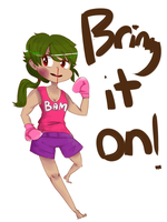 Request: Boxing by HappyMintTea