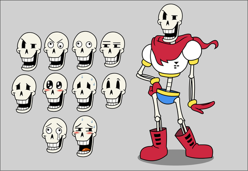 Papyrus Animation Build (Flash 8) by GlamourKat