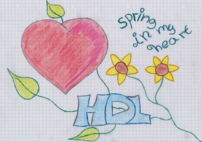 HDL-Spring in my Heart Doodle by Leichenengel