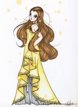 The Firefly Lady by Aishi05