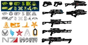 [Project] Mass Effect Logos and Armory by Croc-blanc
