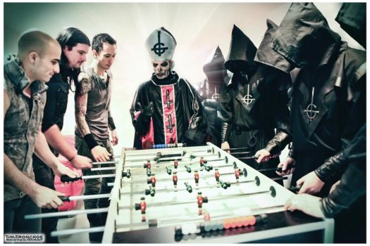 Trivium and Ghost / 2011 by TimTronckoe