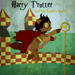 Harry Trotter and the Golden Snitch by SteampunkedInkling