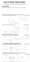 Tutorial: How to draw Amadi/Male head by Donlvir