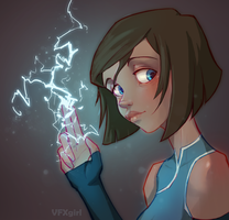 Lightning by ChrissaBug
