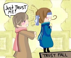 Trust Fall by Chocotok