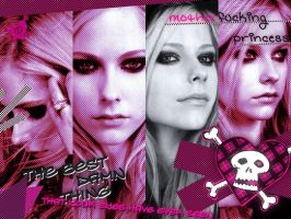 Avril Lavigne Collage by VonCroy360