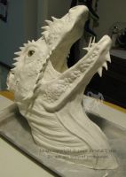 WIP - Dragon Bust by R-Eventide