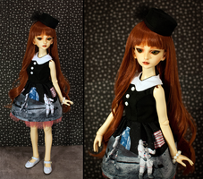 Apollo 16 Dress and Pill Box Hat by daPatches