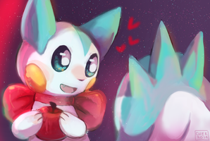 Pachi In Space by Xishka