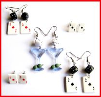 Rockabilly Earrings by cherryboop