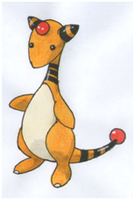 Ampharos by twilightlinkjh